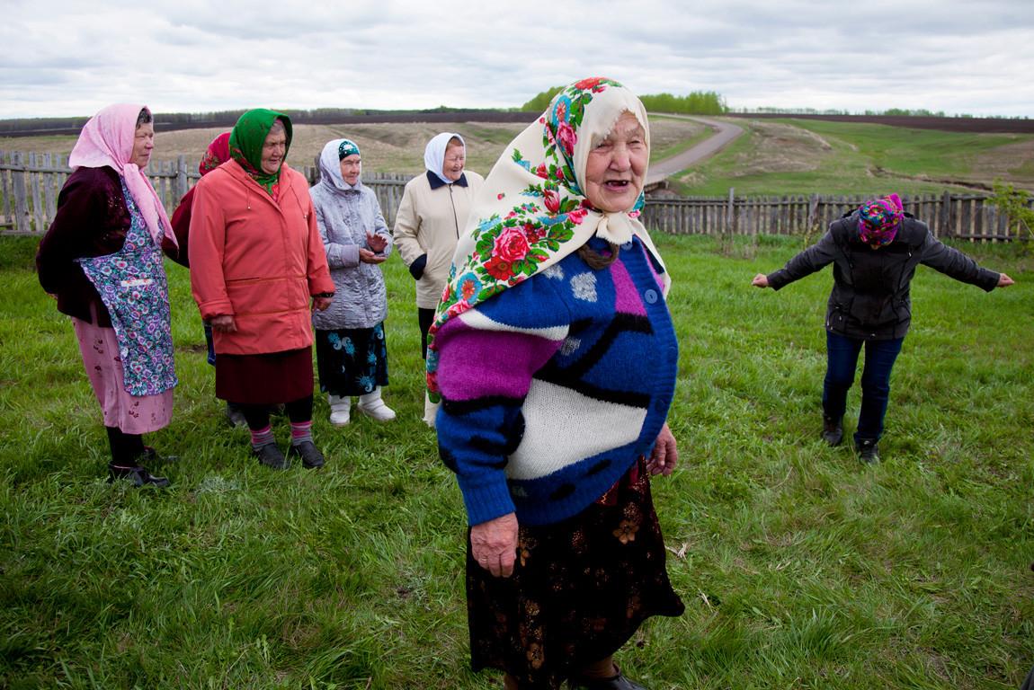 Village party, Tatarstan, Russia